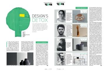 Actives Magazine - Presse Anja Clerc Biennale Design Saint-Etienne - assise