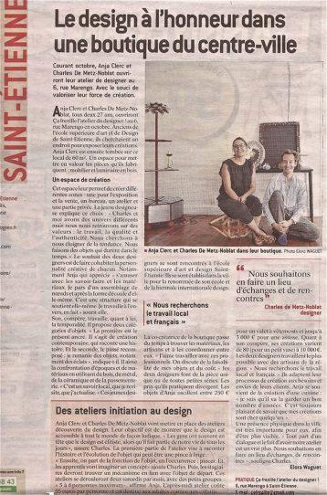 La Tribune - Le Progrès Saint-Etienne Showroom Design