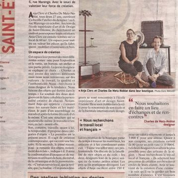 La Tribune - Le Progrès Saint-Etienne Showroom Design