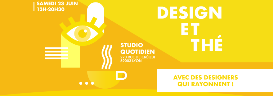Exposition Design et Thé - Lyon
