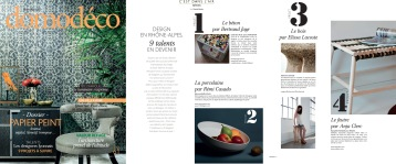 Designer Lyonnais - Domodéco - Banquette Adélaïde Bois