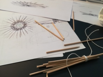 Démarche créative - maquette et dessins - Anja Clerc Design