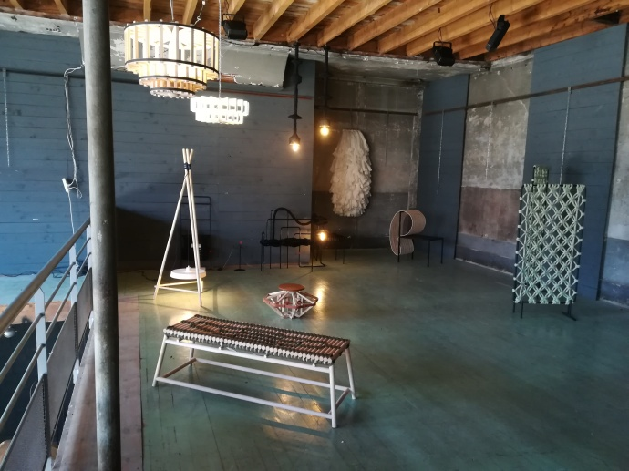 Lustres Isaac - Exposition de design Flux Libre Saint-Etienne Loire Gwendoline Del Campo