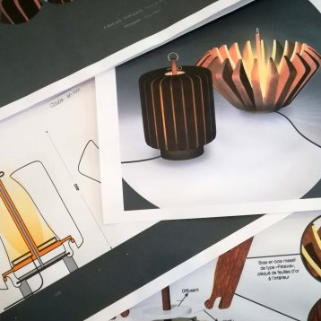 Démarche design - Anja Clerc - Présentation projets luminaires sur-mesure