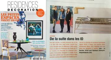 Résidence Décoration - Presse Anja Clerc Design - Printemps des Docks - banquette bois