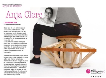 St Etienne Society - presse Anja Clerc design - Assise