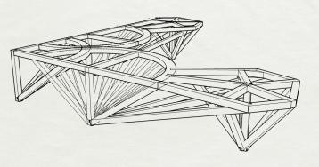 Banquette Compagnon - Recherches mobilier sur-mesure - Anja Clerc Design