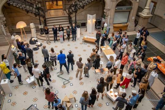 Vernissage de l'exposition (Ré)emploi, l'histoire de nos territoires - Collectif M - PDW 2018