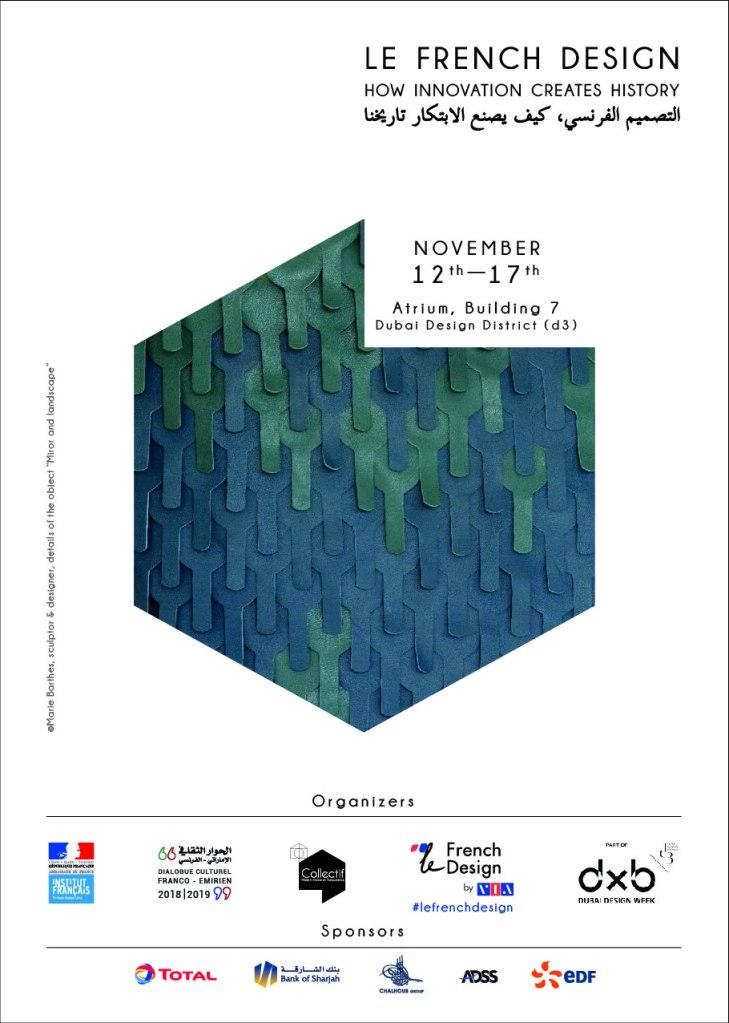 Dubai design week French design Anja Clerc